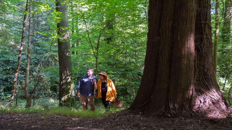 Noémie Vialard et Stéphane Houlbert amoureux de la nature et du terroir